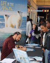 To The Arctic book tour
